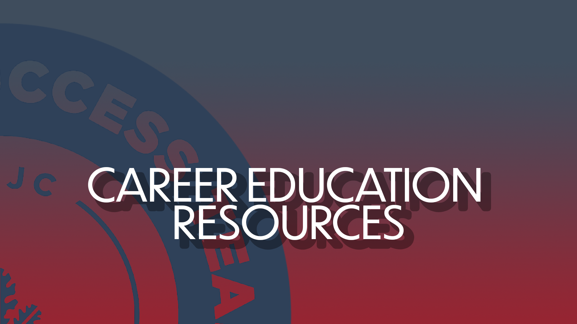 Career Education Resources